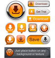 Download high-detailed modern buttons vector