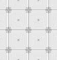White squares with gray layering tile ornament vector