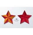 Modern star banner background vector