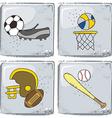 Sports theme vector