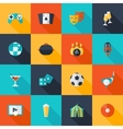 Entertaining icons set vector