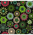 Floral seamless texture endless pattern with vector