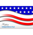 Happy independence day - card vector