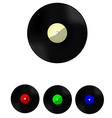 Vinyl set vector