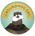 Groundhog day vector
