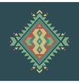 Colorful decorative ethnic pattern vector
