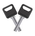 Car keys design vector