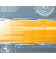 Abstract background - futuristic high tech design vector