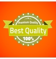 Best premium quality badge vector
