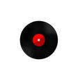 Vinyl red vector