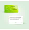 Modern business card template vector
