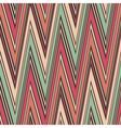 Striped textured zig zag seamless pattern vector