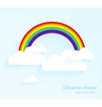 Rainbow design vector