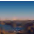 Blurred landscape background vector
