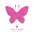 Pink abstract flowers texture butterfly silhouette vector