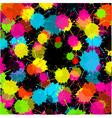 Splash black background vector
