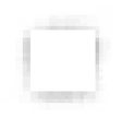 Pixel square white plane with gray shadow vector