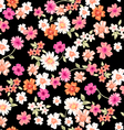 Sweet daisy seamless background vector