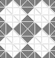 Seamless black and white lines and layering vector