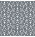 Whitegrey vintage seamless pattern vector
