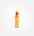 Candle icon2 vector
