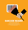 Barcode reader graphic vector