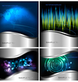 Abstract technology backgrounds vector