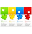 Color puzzles vector