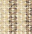 Vintage bright geometric seamless pattern rounded vector