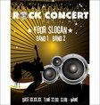 Rock concert wallpaper vector