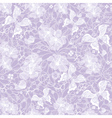 Gentle seamless violet vintage pattern vector