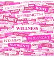 Wellness vector