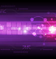 Abstract digital technology background vector