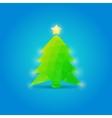 Christmas tree new year vector