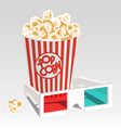 3d movie vector