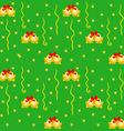 Green xmas wrapping vector