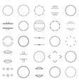 Set of elements vector