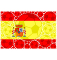 Spain soccer balls vector