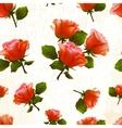 Pattern rose flower old vector