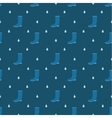 Rain boots seamless pattern vector