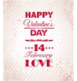 Happy valentines day background i love you vector