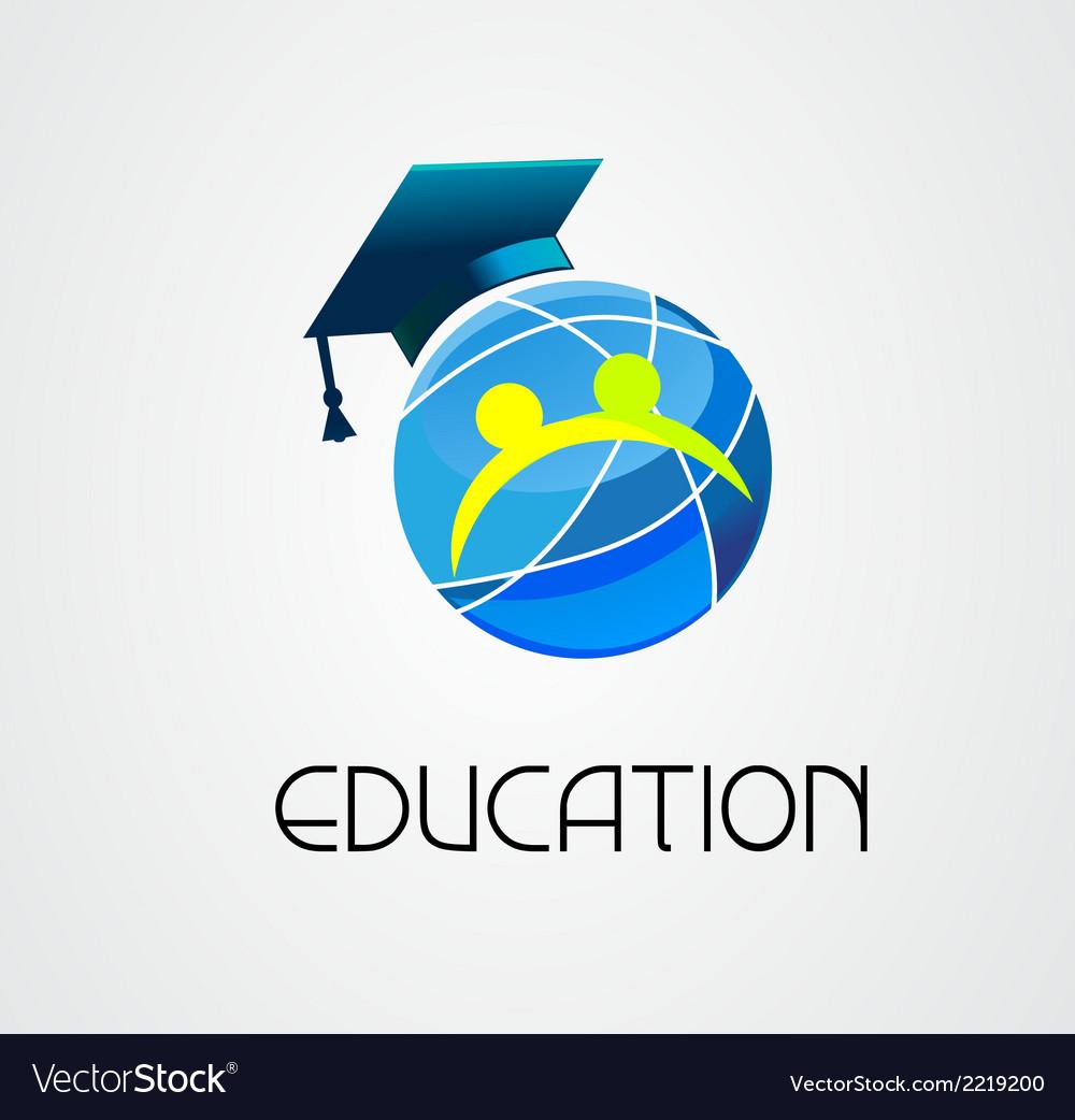 Global education logo company vector | Price: 1 Credit (USD $1)