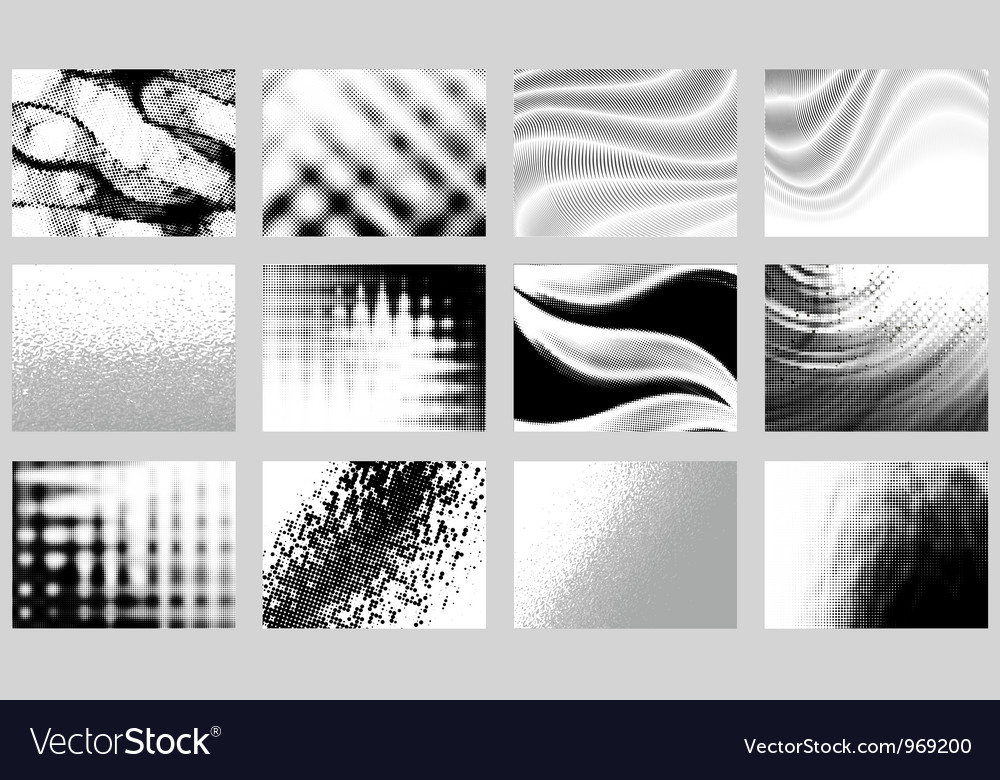 Monochrome backgrounds vector | Price: 1 Credit (USD $1)