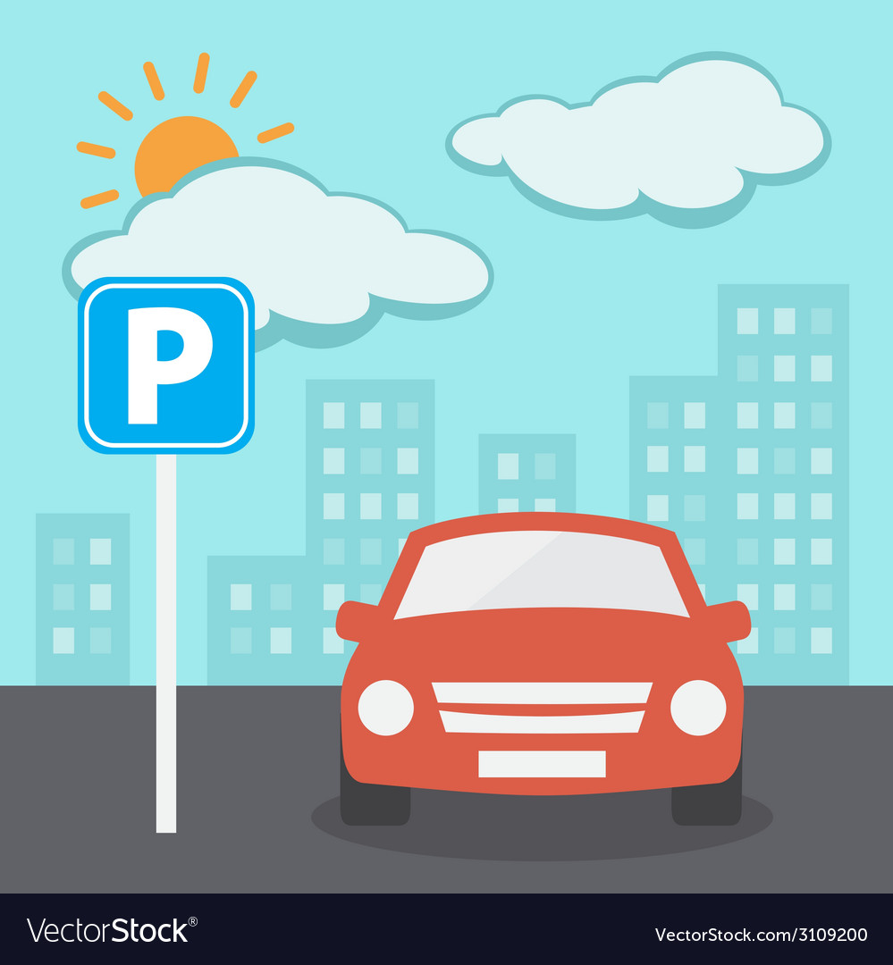 Parking vector | Price: 1 Credit (USD $1)