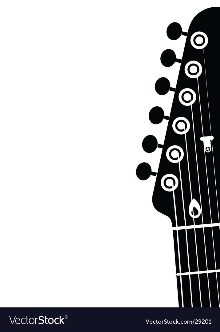 Guitar head vector   Price: 1 Credit (USD $1)