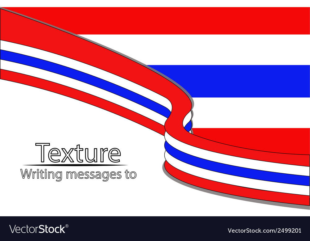 New-text-flag-thai vector | Price: 1 Credit (USD $1)