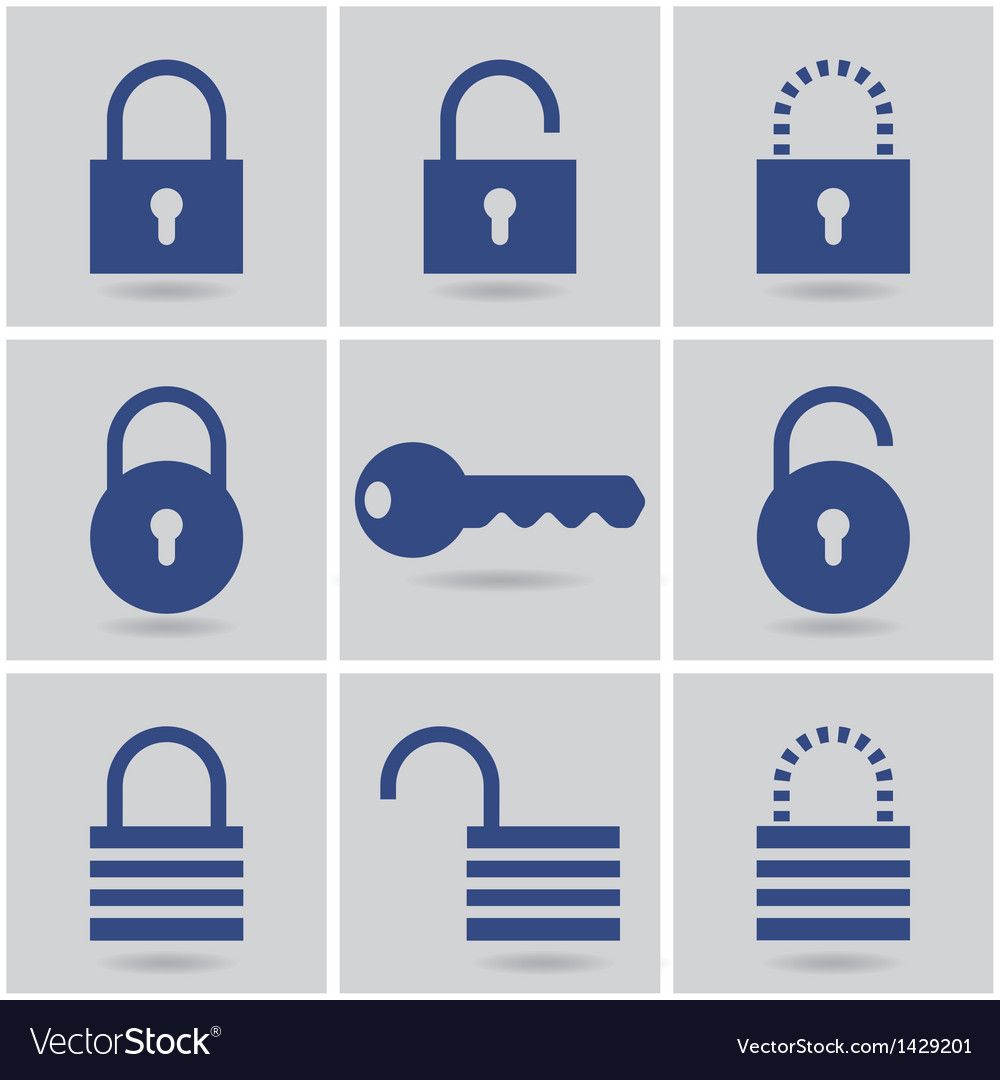 Padlocks vector | Price: 1 Credit (USD $1)