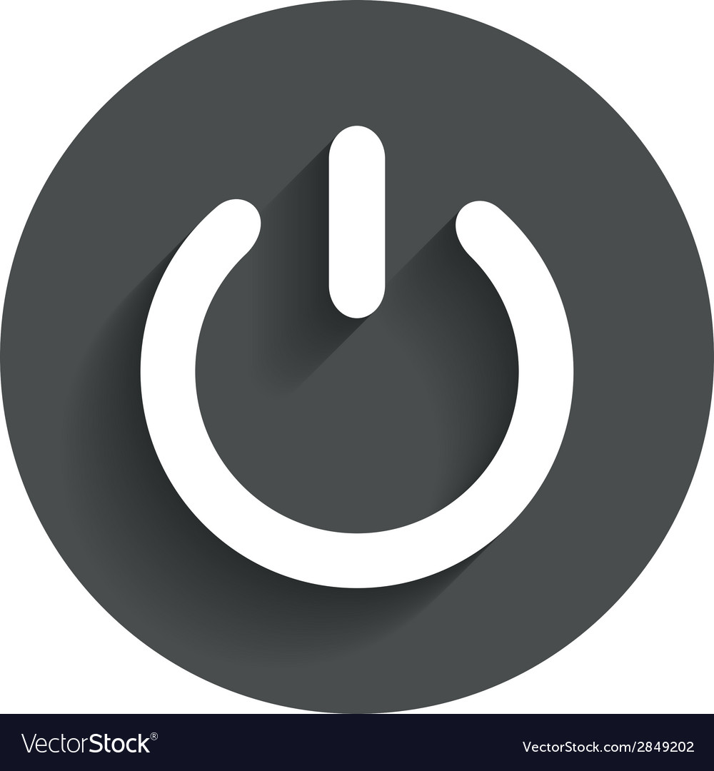 Power sign icon switch on symbol vector | Price: 1 Credit (USD $1)