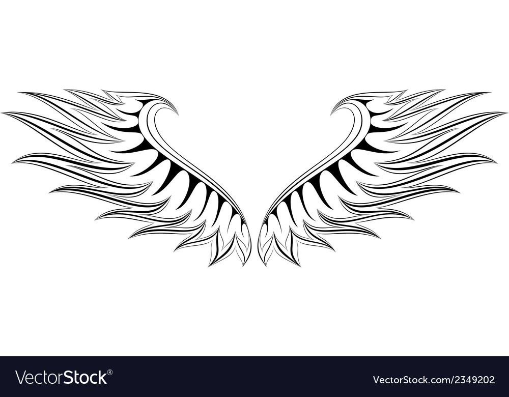 Wing 4 vector | Price: 1 Credit (USD $1)