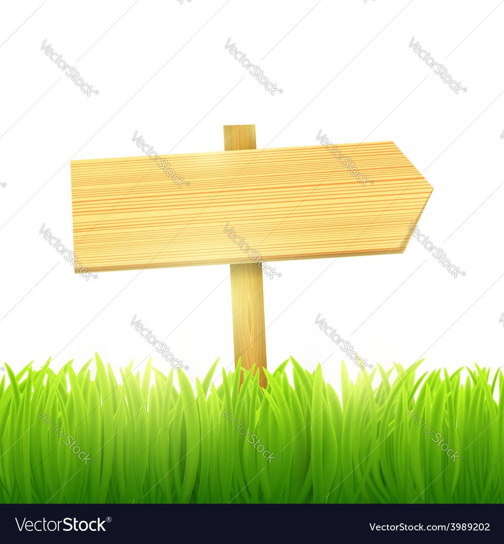 Wooden board index vector | Price: 1 Credit (USD $1)